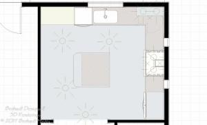 Basic Kitchen Design Package Floor Plan