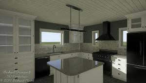 Basic Kitchen Design Package Ray Trace
