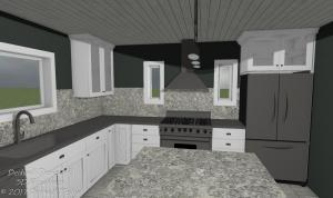 Basic Kitchen Design Package Standard View 1
