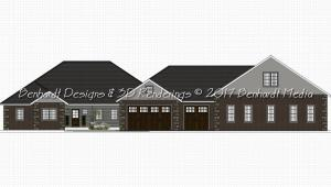 Ric Ben House Front Elevation
