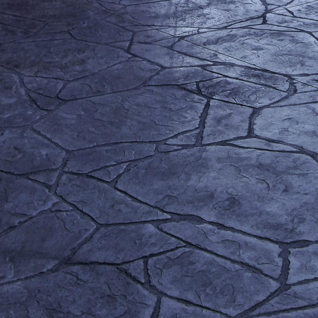 Stamped Arizona Flagstone One Option Of Many Concrete Finishes